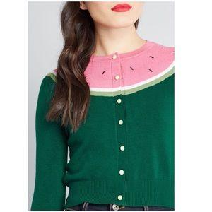 Watermelon Cardigan Sweater Collectif